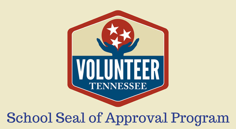 Volunteer Tennesse School Seal of Approval