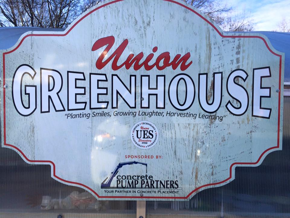 UES Greenhouse Sign